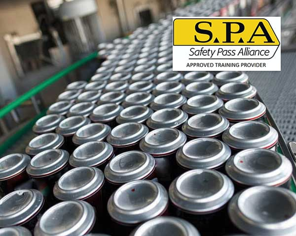 Safety Pass Alliance (SPA) – Food & Drink Sector Day course