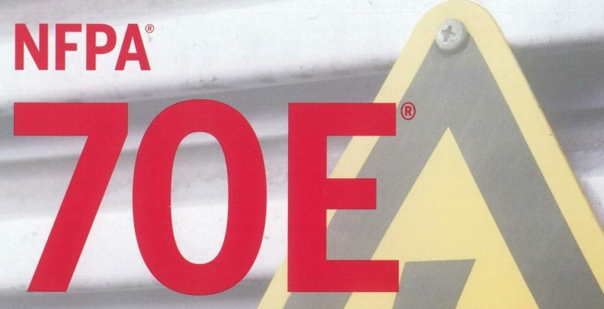 NFPA 70E front page Scan