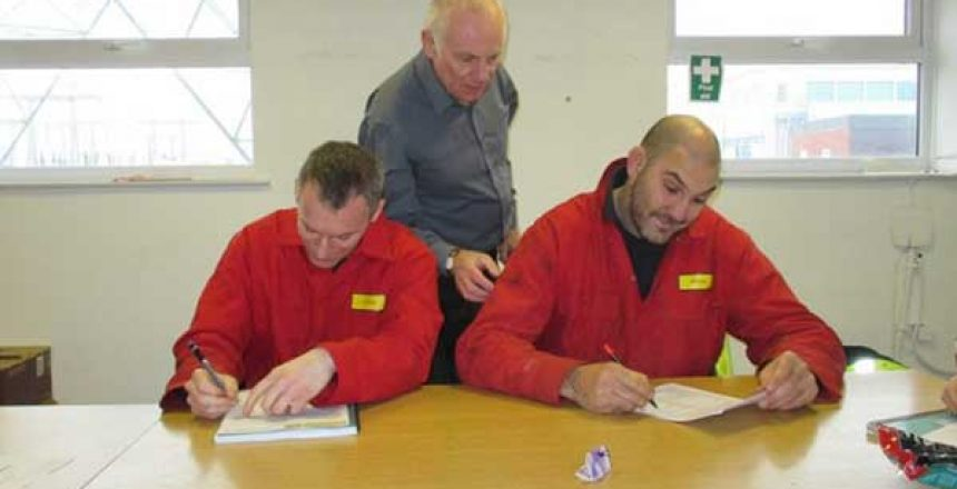 Fire warden and marshals training